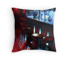 Down and Out in Kabukicho Throw Pillow