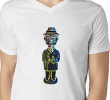 Dick Tracy Mens V-Neck T-Shirt