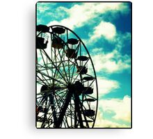 Big Wheel, Scarborough. Canvas Print