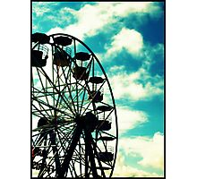 Big Wheel, Scarborough. Photographic Print