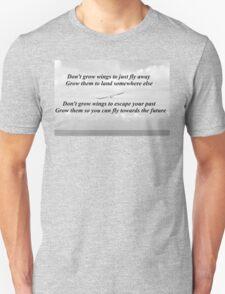 Wings Of Em Poem T-Shirt