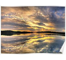 Cloud Symphony - Narrabeen Lakes, Sydney - The HDR Experience Poster
