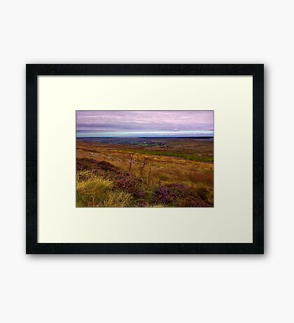 North Yorks Moors National Park Framed Print