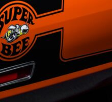 1970 Dodge Superbee 440 Six Pack Sticker