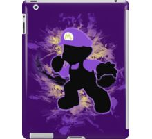 Super Smash Bros. Purple Mario Silhouette iPad Case/Skin