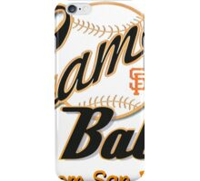 SF Giants Gamer Babe from San Bruno iPhone Case/Skin