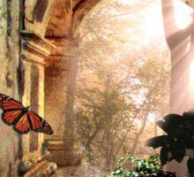Butterfly Dreaming Sticker