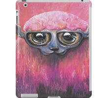 Pink Sheep Acrylic Color Painting iPad Case/Skin