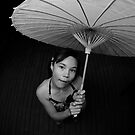 Under my Umbrella by Adam Jones