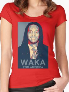 Waka Flocka For America ! Women's Fitted Scoop T-Shirt