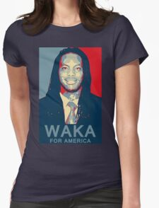 Waka Flocka For America ! Womens Fitted T-Shirt