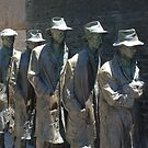 FDR Memorial Dole Queue by TonyCrehan