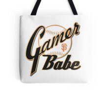SF Giants Gamer Babe Tote Bag