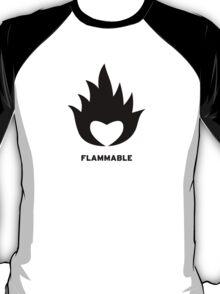 Flammable heart T-Shirt