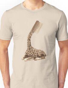 giraffe brush Unisex T-Shirt