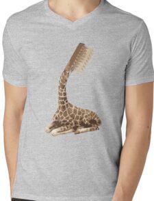 giraffe brush Mens V-Neck T-Shirt