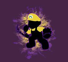 Super Smash Bros. Yellow/Wario Mario Silhouette T-Shirt