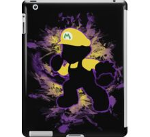Super Smash Bros. Yellow/Wario Mario Silhouette iPad Case/Skin