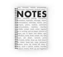 Notes! Spiral Notebook