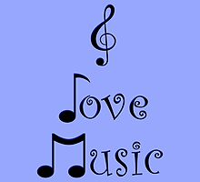 I Love Music - Bohemian Blue by moonshinepdise