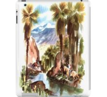 Lovely day out iPad Case/Skin