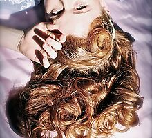Old Hollywood Redhead by Shevaun  Shh!