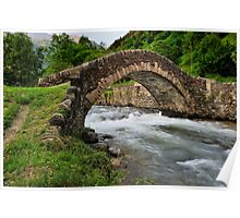 romanesque bridge Poster