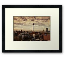 TV Tower, Berlin Framed Print