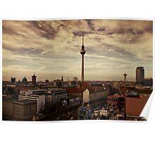 TV Tower, Berlin Poster