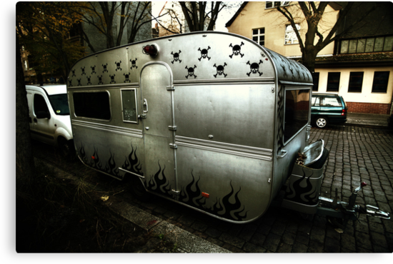 Trailer living, Berlin by Reinvention