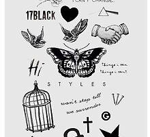 Harry's Tattoos Case by twerkinforharry