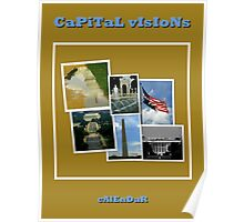 CaPiTaL vIsIoNs Calendar Cover Poster