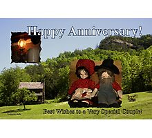 Anniversary ~ Dolls from Gladie Creek Photographic Print