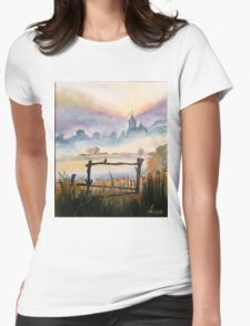 Morning song Womens Fitted T-Shirt
