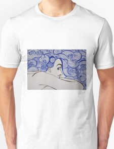 Global Art Gallery - Waves of Serenity T-Shirt