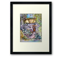 Thatched Cottage by Heather Holland Framed Print