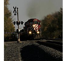 Runaway Train...Running right off the track...rock and roll train Photographic Print