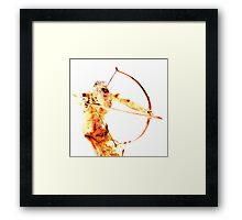 Hot Blooded Framed Print