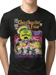 The Ghostbustin Four #49 Tri-blend T-Shirt