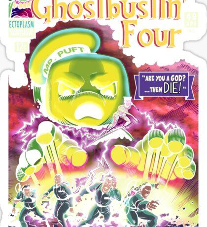 The Ghostbustin Four #49 Sticker