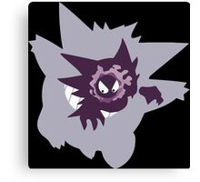 pokemon gengar haunter gastly anime manga shirt Canvas Print