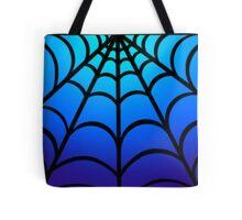 Blue Webs Tote Bag