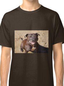Happy Staffie Classic T-Shirt