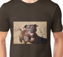 Happy Staffie Unisex T-Shirt