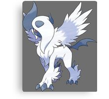 pokemon mega absol anime manga shirt Canvas Print