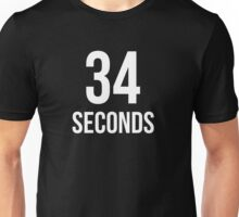 34 Seconds Unisex T-Shirt