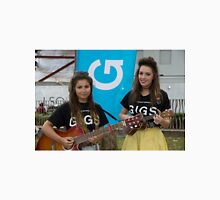 Leila Mcneelance and Lucy May Walker perform in Leicester Square during Buskin London Festival Unisex T-Shirt