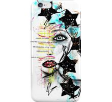 Mixed Media Superstar iPhone Case/Skin