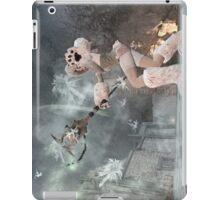 Ice skill beargirl iPad Case/Skin