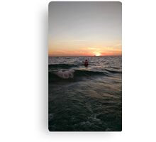 I learned a thing or two from the Ocean Canvas Print